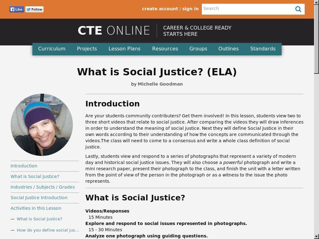 What is Social Justice? (ELA)