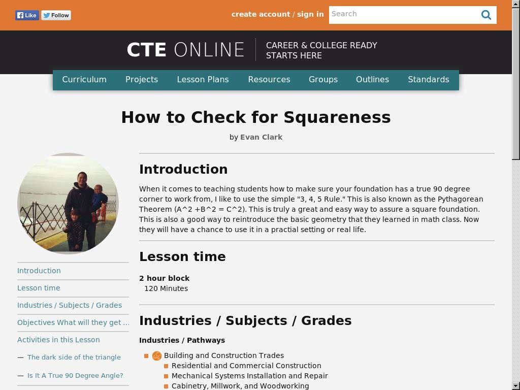How to Check for Squareness