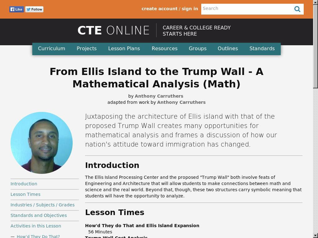 From Ellis Island to the Trump Wall – A Mathematical Analysis