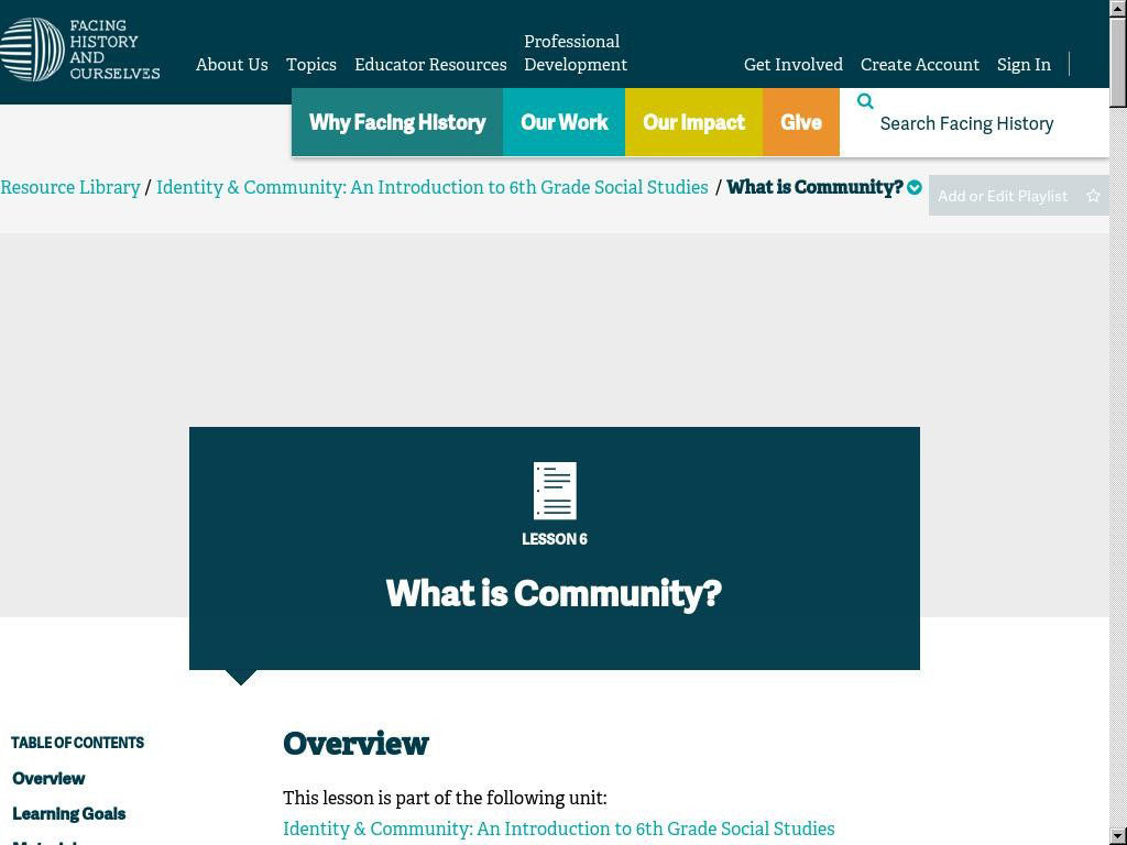 What is Community