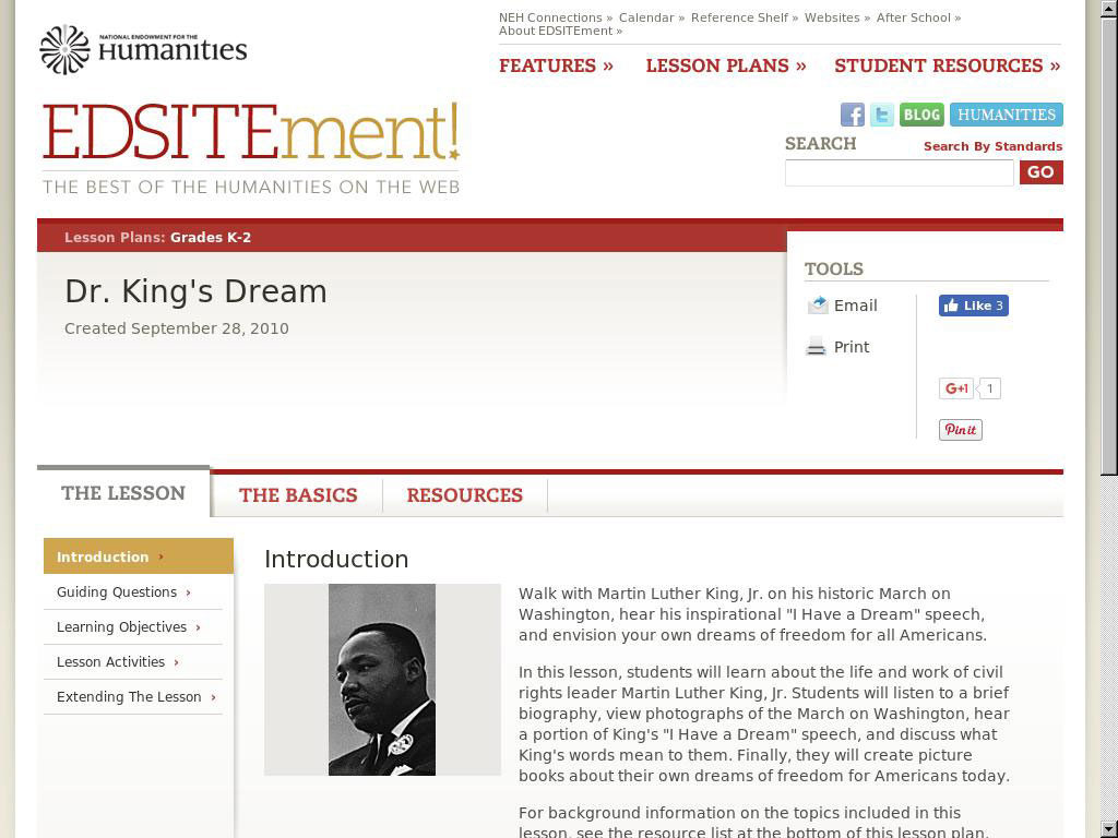 Dr. Kings Dream