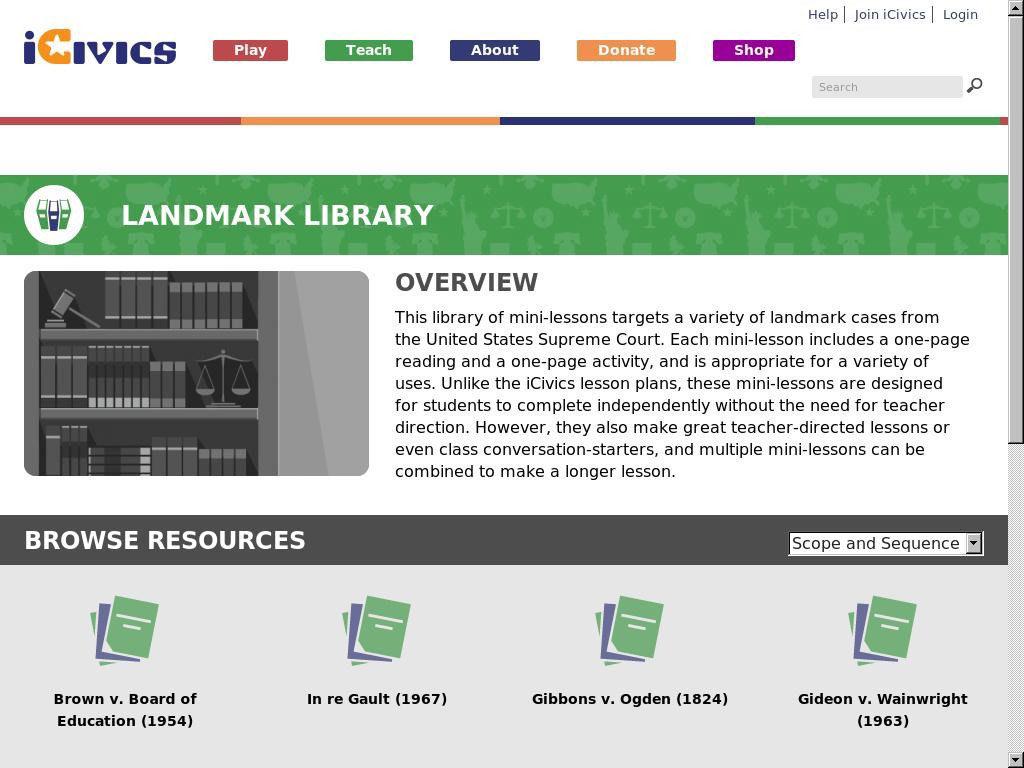 Landmark Library