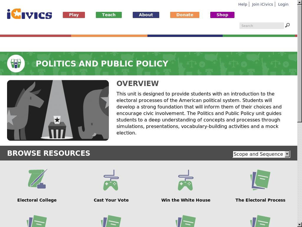 Polotics and Public Policy